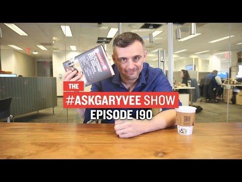 #AskGaryVee Episode 190: The #AskGaryVee Book Launch
