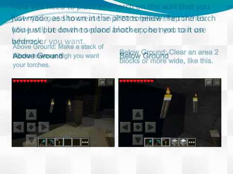 MCPe Glitches 6: Placing Torches on Invisible Bedrock