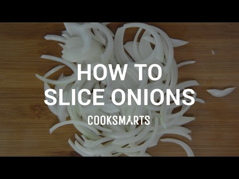 How to Slice Onions by Cook Smarts