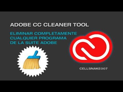 Adobe CC Cleaner Tool [Como Desinstalar Adobe Creative Cloud 2016 [Completo]