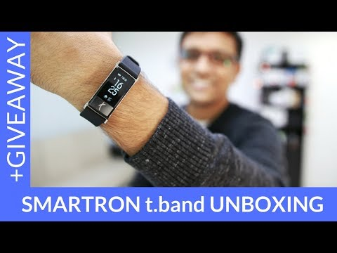 New Smartron t.band Unboxing (Win 5 tbands on PhoneRadar)