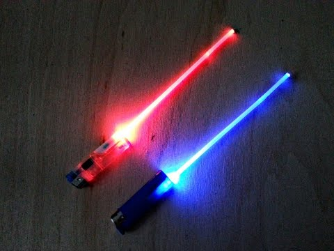 Make your own Badass Little Lightsaber - Fast and Easy