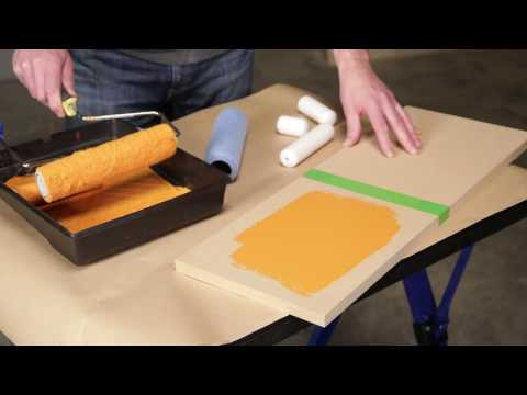 How To Choose the Correct Paint Roller