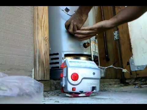 Bradford White Icon gas valve replacement