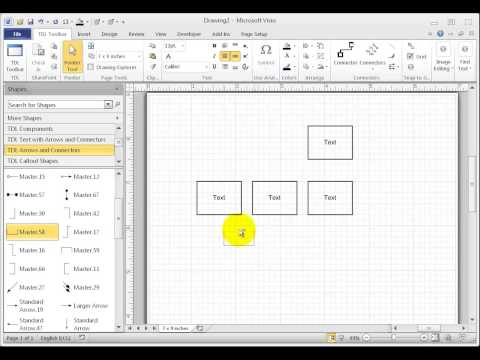 Visio - Create a bend in the connector line