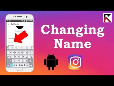 How To Change Instagram Username Android 2018