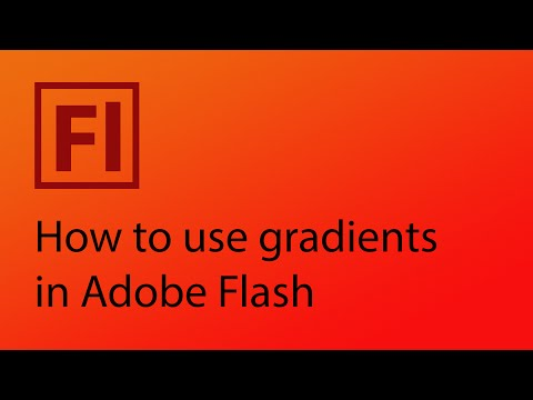 How to use gradients in Adobe Flash CS6