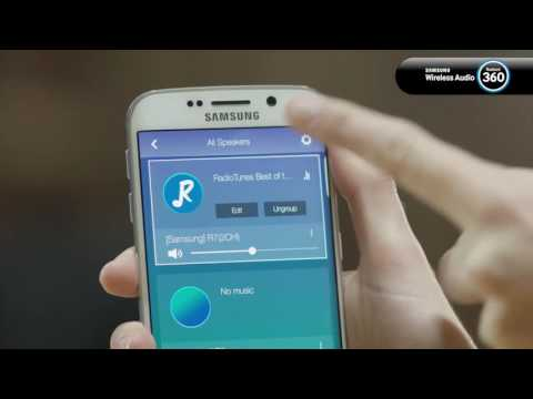 How to create a surround sound system using Samsung Wireless Audio 360 Speakers