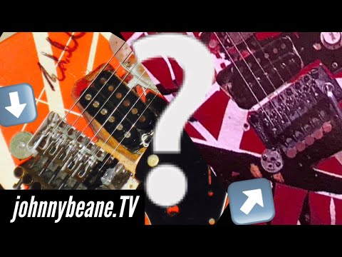 Why did Eddie Van Halen use a quarter on his Frankenstein guitar?
