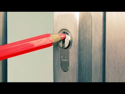 5 Ways to Open a Lock (Life Hacks)
