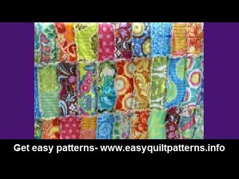 rag quilting made easy basic quilt diy