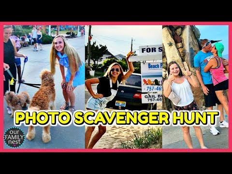 PHOTO SCAVENGER HUNT!! ASKING RANDOM PEOPLE FOR PHOTOS!
