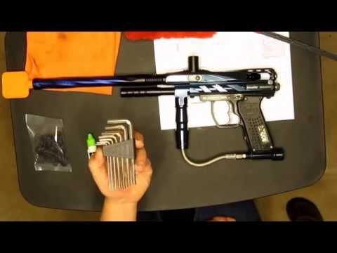 How to Clean Your Paintball Gun, Spyder Marker