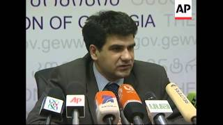 Election Commission Annouces Saakashvili Victory