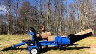 Wallenstein WP Firewood Processor