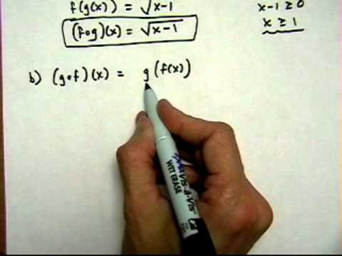 find composite functions #3 - (cr).mov