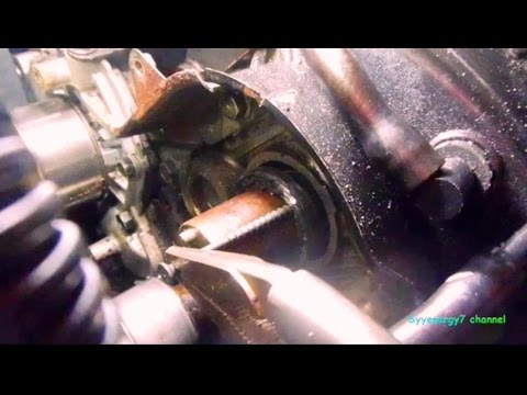 Chrysler Sebring, Cam Seal Extract Remove & Install