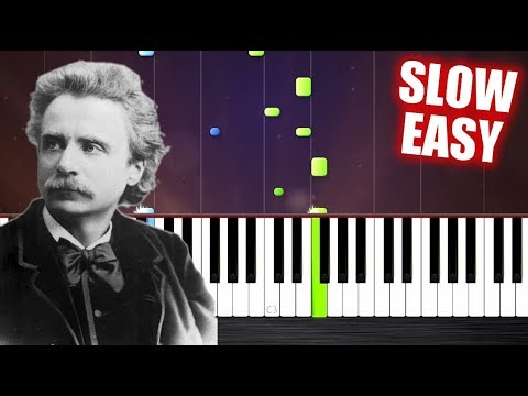 Edvard Grieg - In The Hall Of The Mountain King - SLOW EASY Piano Tutorial by PlutaX