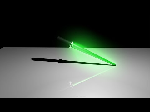Maya 2015 tutorial : How to create a lightsaber, Glow Effect.