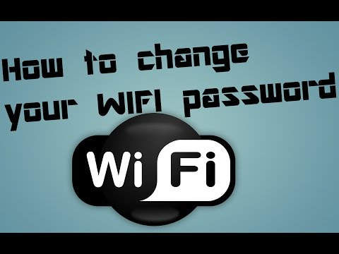 || How to change WiFi password ||