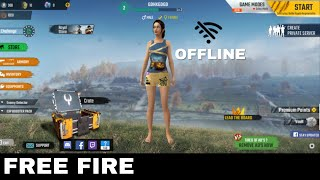 OFFLINE FREE FIRE । PLAY STORE NEW GAME FREE FIRE OFFLINE IN 2020 । D Gamer । free fire game offline
