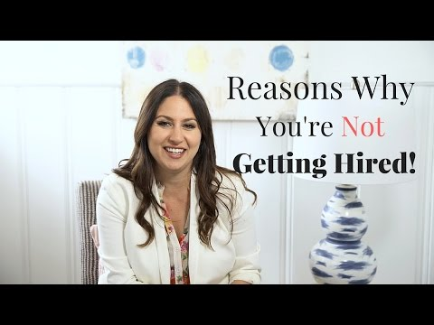 Reasons You're Not Getting Hired!   The Intern Queen