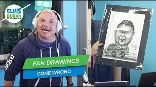 Fan Drawings Gone Wrong | Elvis Duran Exclusive