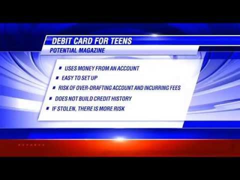 Debit/Credit Cards for Teens