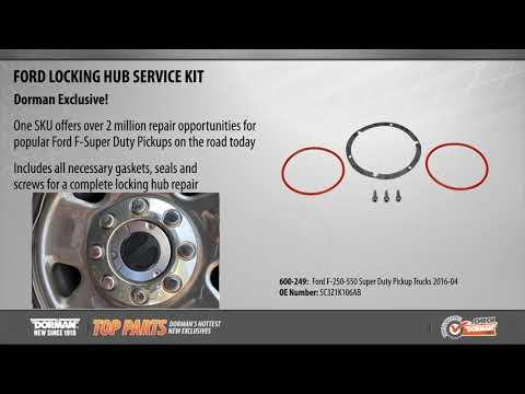 Locking Hub Service Kit