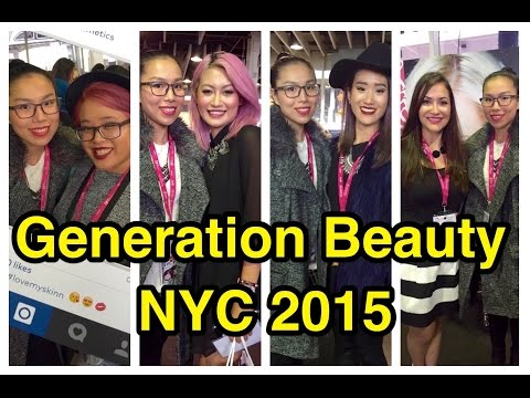 My Generation Beauty NYC 2015 experience & Haul - Natalie's Creations