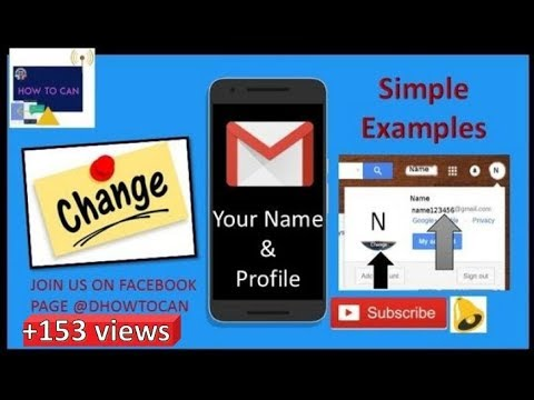 how to change gmail profile picture in hindi