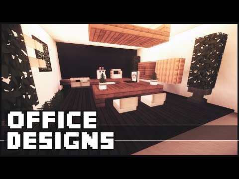 Minecraft - Office Designs & Ideas