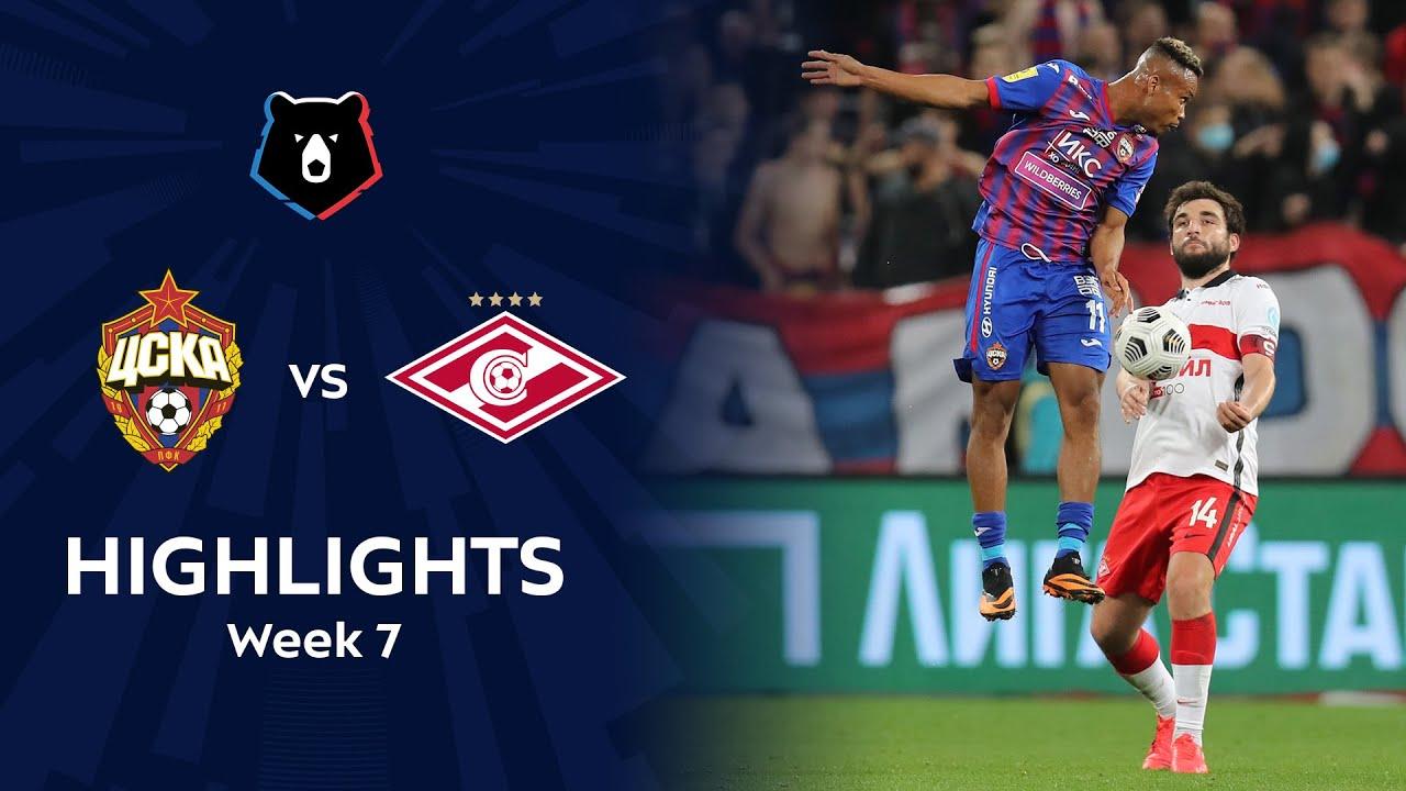Highlights CSKA vs Spartak (3-1) | RPL 2020/21