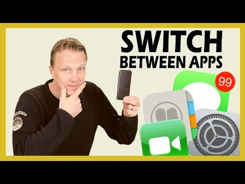 How to Switch between Apps on iPhoe or iPad