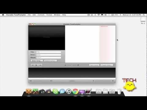 How To Create Karaoke Videos (iKaraoke TunePrompter)