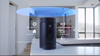 Zmodo Pivot - 360° Rotating Security Camera and Smart Home Hub