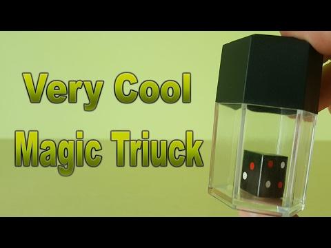 MAGIC TRICKS GLASS BOX AND DICE EASY MAGIC TRICKS AMAIZING MAGIC TRICKS (#1)