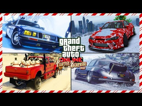 TOP 10 MUST OWN Vehicles For Driving In The Snow In GTA Online! (GTA 5 Best Snow Cars)