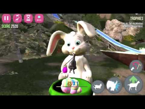 How to unlock Easter goat in goat simulator ( iOS iPhone iPad android ) and some Easter fun