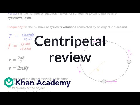 AP Physics 1 review of Centripetal Forces | Physics | Khan Academy