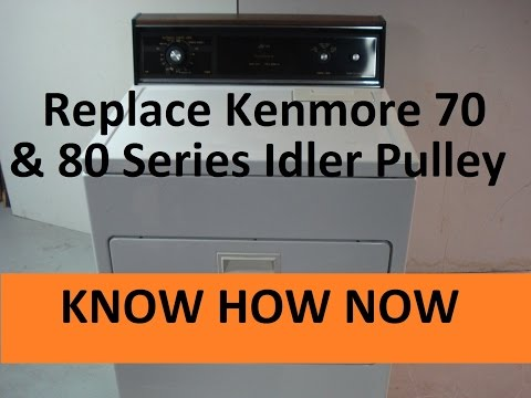 Replace a Kenmore Dryer Idler Pulley