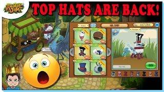 Image of: Beta Animal Jam Brought Top Hats Back Into The Shop Music Jinni Getting Rare Top Hatanimal Jam Music Jinni