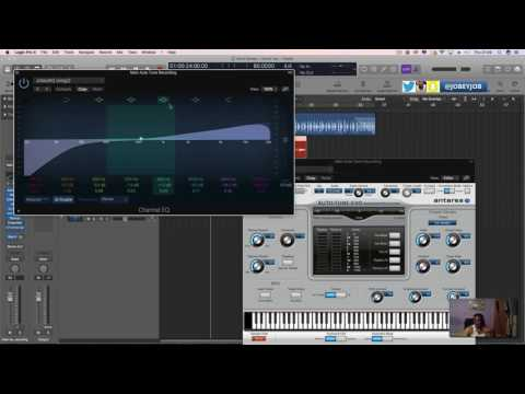 Logic Pro X -  How to Use Auto Tune in your vocals correctly  (Indepth)