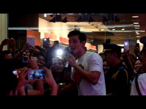 Xian Lim at XL2 Album in Gateway Mall