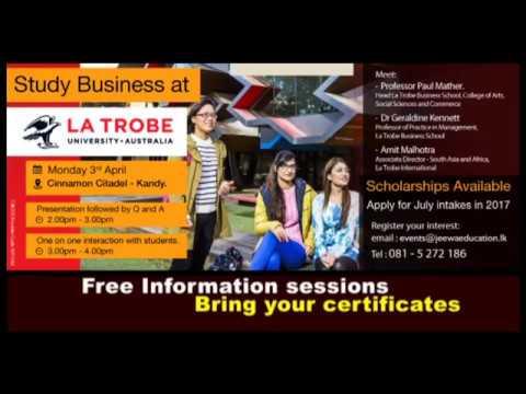 La Trobe University, Australia - Sri Lanka Visit