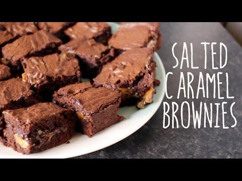Salted Caramel Brownies | buttonsandbowsxo