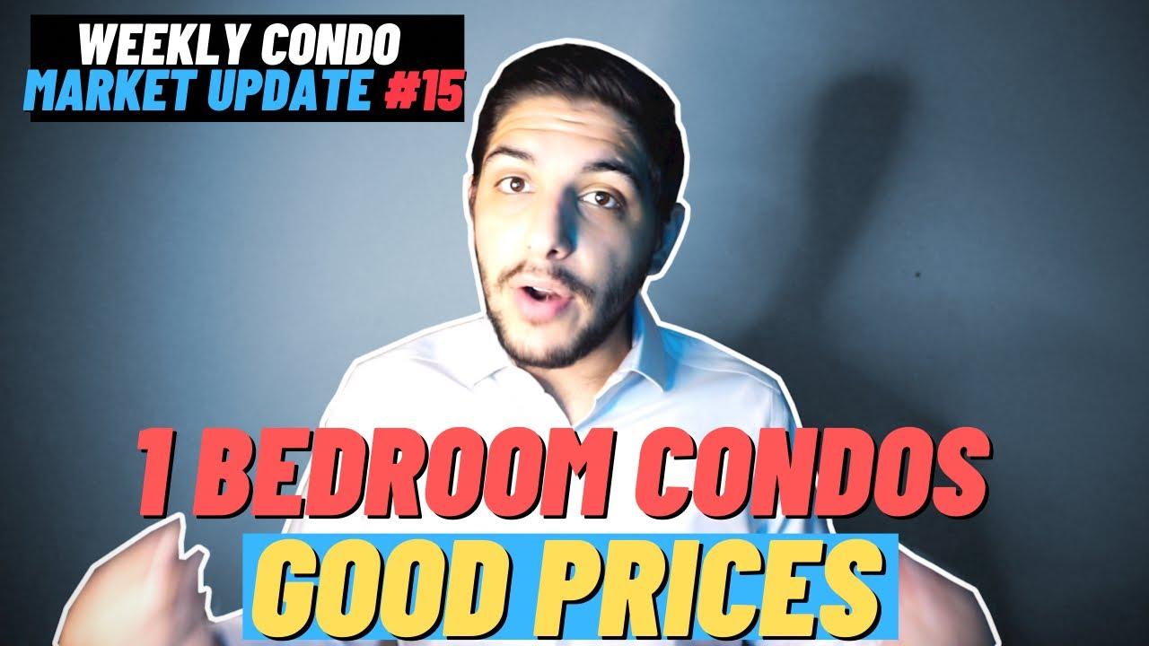 1 Bedroom & 2 Bedroom Condo Prices In Toronto - 7/24/2021 - Weekly Condo Market Update #15