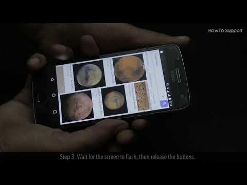 How to take screenshot on mobile