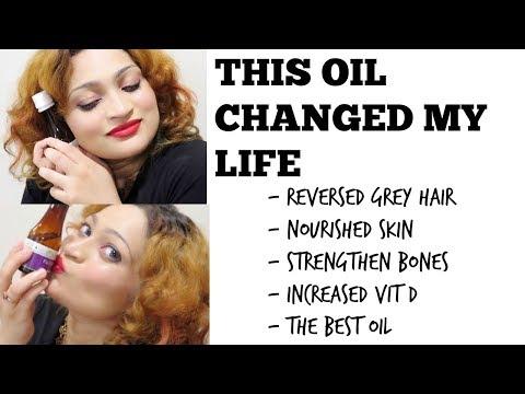 FLAXSEED OIL REVERSED GREY HAIR