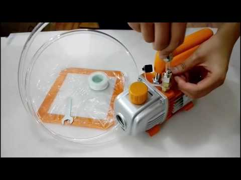 【BACO ENG】How to Assemble Vacuum Chamber and Pump